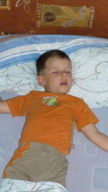 Schlaf schön kleiner Engel