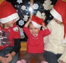 Weihnachtsfotos machen Spaß