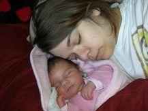 Kuschelzeit mit Mama