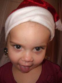 Frechdachs-Weihnachtsfrau