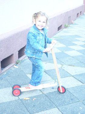 Ich liebe meinen Roller