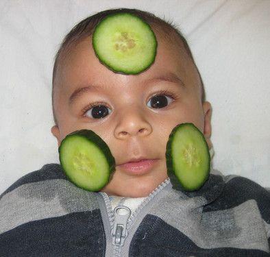 Trockene Babyhaut Nein Danke