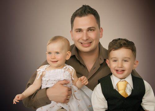 Papa mit seinem Prinz & Prinzessin ;-)