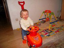 Mein Sohn Leon mobil