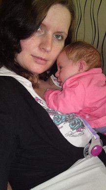 Mama mit Natalia
