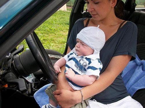 Luis erste fahrstunde