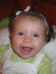 Denise mit 18 Wochen  : )