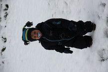 Mein erster Schnee....