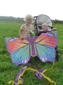 Schaut her.....unser Schmetterling!!!