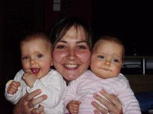 Amanda,Mama Wendy u.Samantha