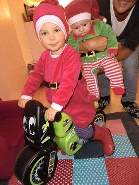 Der Weihnachtsmann und Knecht Ruprecht!