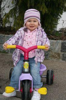 Rennfahrerin Alina