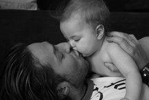 Das ist Papa&Tochter Liebe:-)