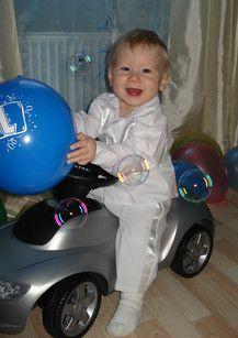 Maximilians 1. Geburtstag