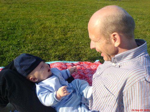 Gemeinsam haben wir Spass im Park