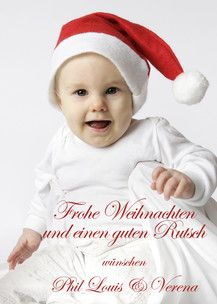 Weihnachtsgrüße vom Mini-Nikolaus