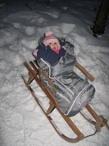 Eingemummelt im Winter