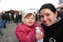 Heuer unser erster Adventsmarkt- war zwar viel zu warm aber der Schokonikolaus schmeckte trotzdem