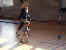 beim Kinderturnen