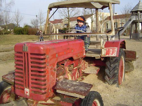 Richard bei der Ernte