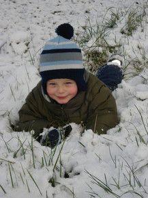 Andrin im Schnee