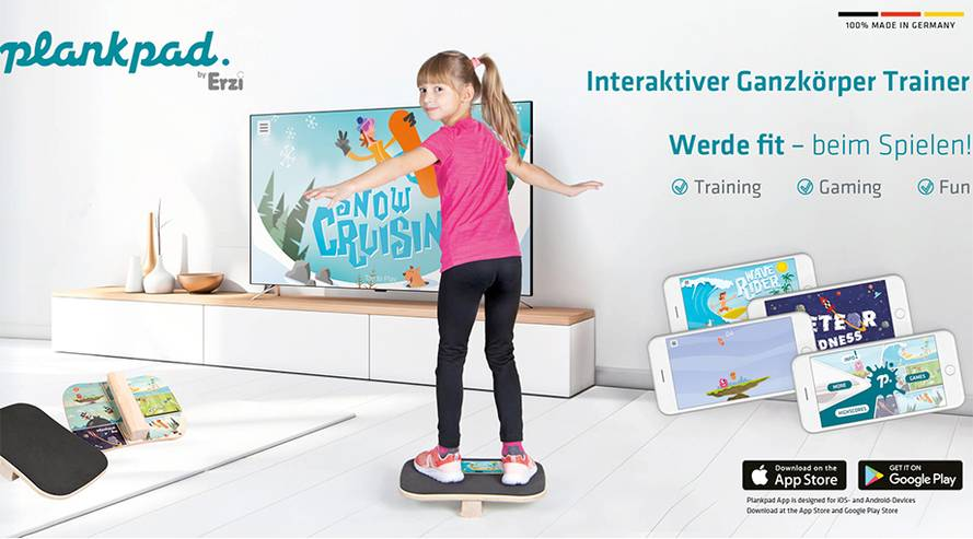 Plankpad byErzi für Kinder
