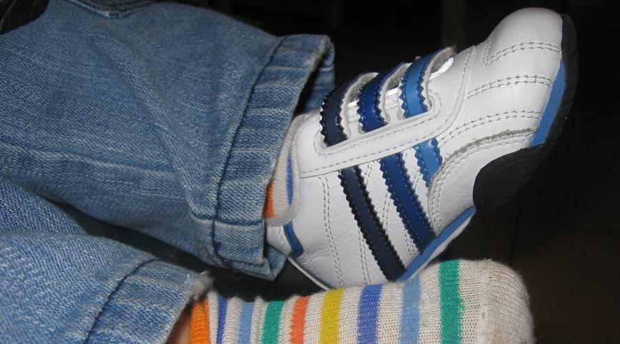 Barfuß oder Schuhe?