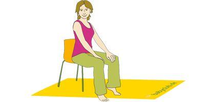 Beckenbodenübungen   Beckenbodengymnastik-Übungen