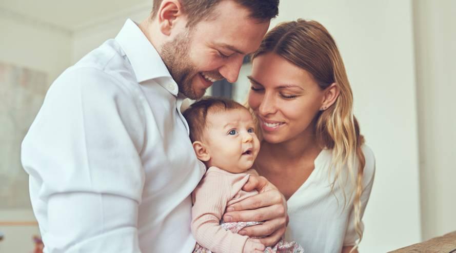 Mama und Familie
