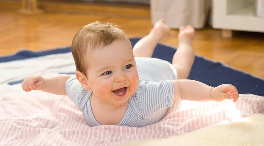 Baby-Entwicklungskalender